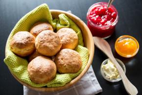 Frokost scones – litt sunnere