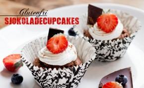 Glutenfri SjokoladeCupcakes