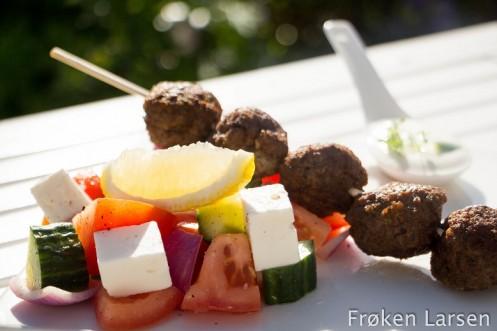 Greske kjøttboller