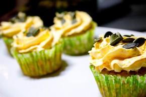Gresskar cupcakes – madblogger udfordringen #2