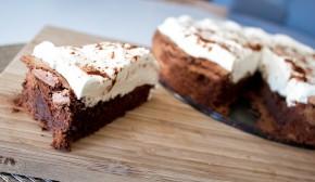 Himmelsk sjokoladekake