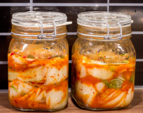 Kimchi (김치) – not so smelly version