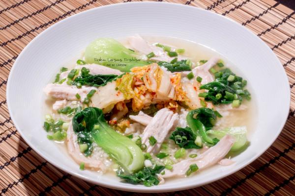 Koreansk kyllingsuppe – Dak gomtang (닭곰탕)