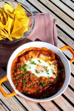 Ovnsbakt tacogryte med egg (1)