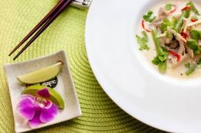 Tom Kha Gai med kylling og aspargesbønner (3) FLF