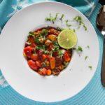 Tomatisert bønnegryte