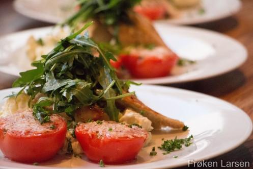 Kylling og potetsalat