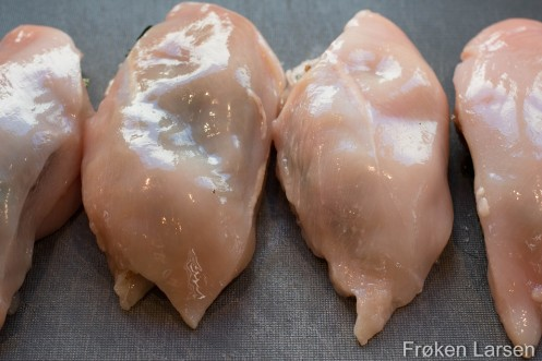 Spinatfylt Kylling