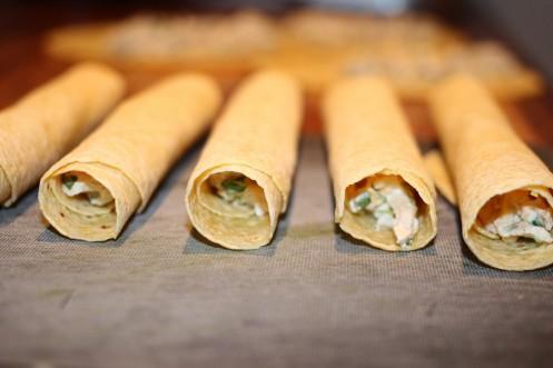 Flautas a Kylling